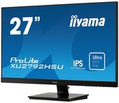 ECRAN LED 27  ULTRA MINCE FULLHD 1920x1080 250cd/m HDMI/DP/VGA 2xUSB HUB 4ms